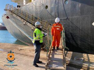 Stella Maris Tarragona assistance to seafarers